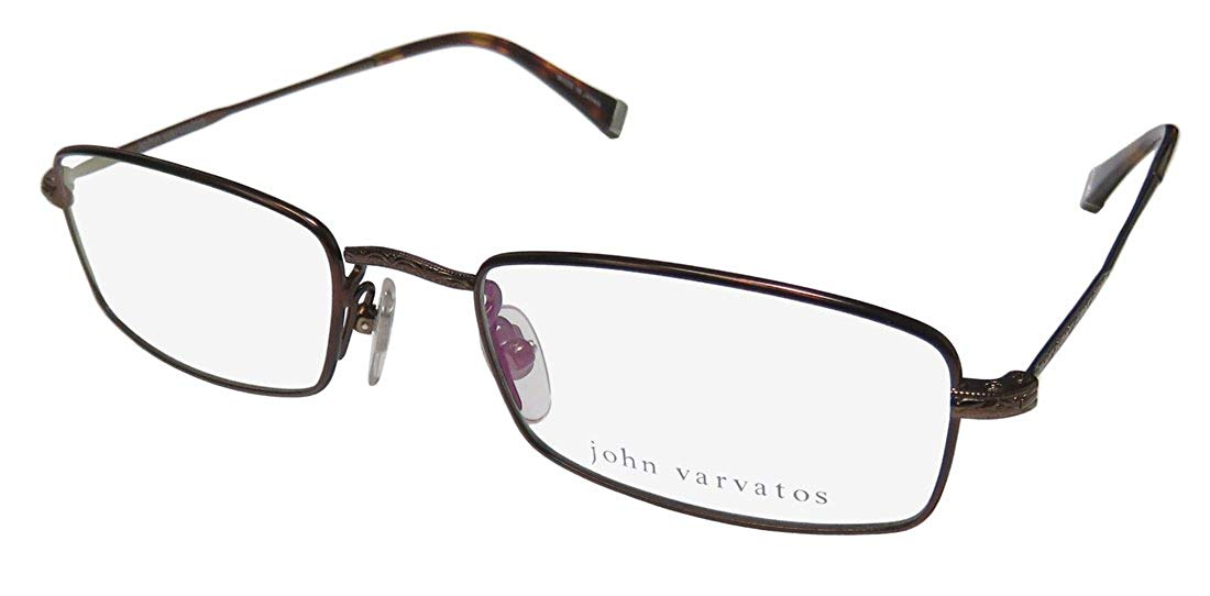 4e87561e6e41 ... Ed Hardy Case. Get Quotations · John Varvatos V139 Mens Designer  Full-rim Fashionable Contemporary Eyeglasses Spectacles
