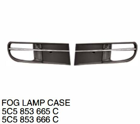 High quality Car Accessories FOG LIGHT CASE For VW Beetle Fusca 2012 OE:5C5 853 665 C 5C5 853 666 C