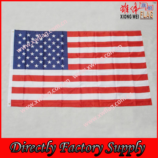 USA Flag Factory Supply Cheap Polyester 3X5ft American Flag