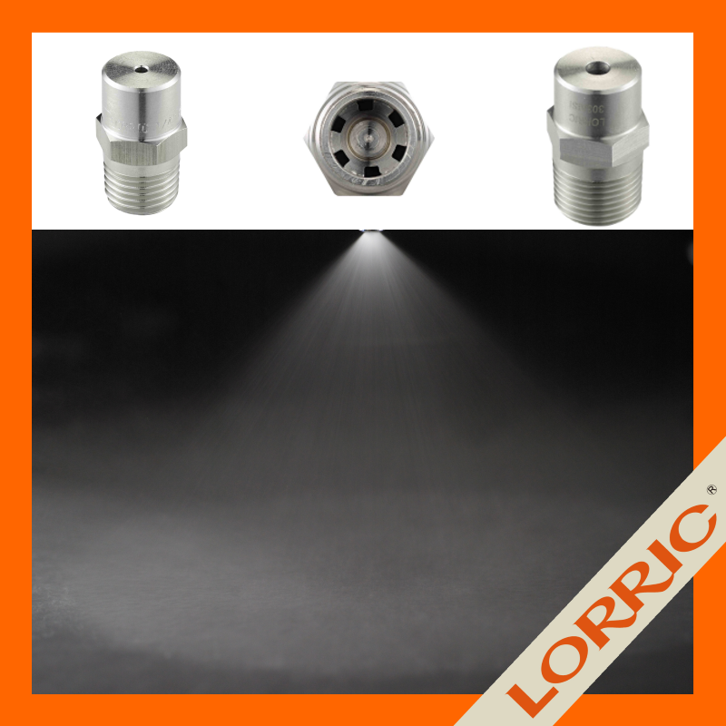 LORRIC - KPMF Series stainless steel full cone water spray nozzle