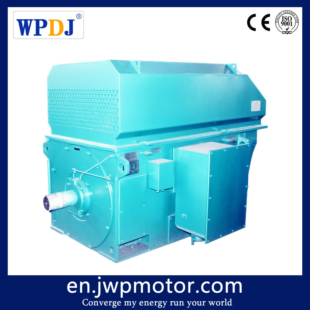 YR series High Voltage 6KV, 6000V wound rotor asynchronous Motor 315KW 355KW 400KW 450KW 500KW for rolling mill