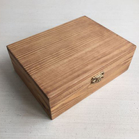 large wooden boxes wholesale diy small wooden box small wooden box with lock and key from China