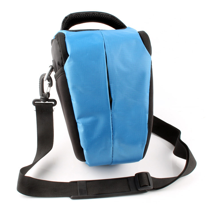 Free Shipping Blue 2015 NEW Camera Case Bag for Nikon DSLR D3300 D3000 D5200 D5100 D5000 D7100 D7000 D90 D80 D70 D70S D60 D40