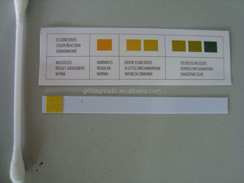 vaginal ph test strip/vagina bacterial infection test with fine, Human Body