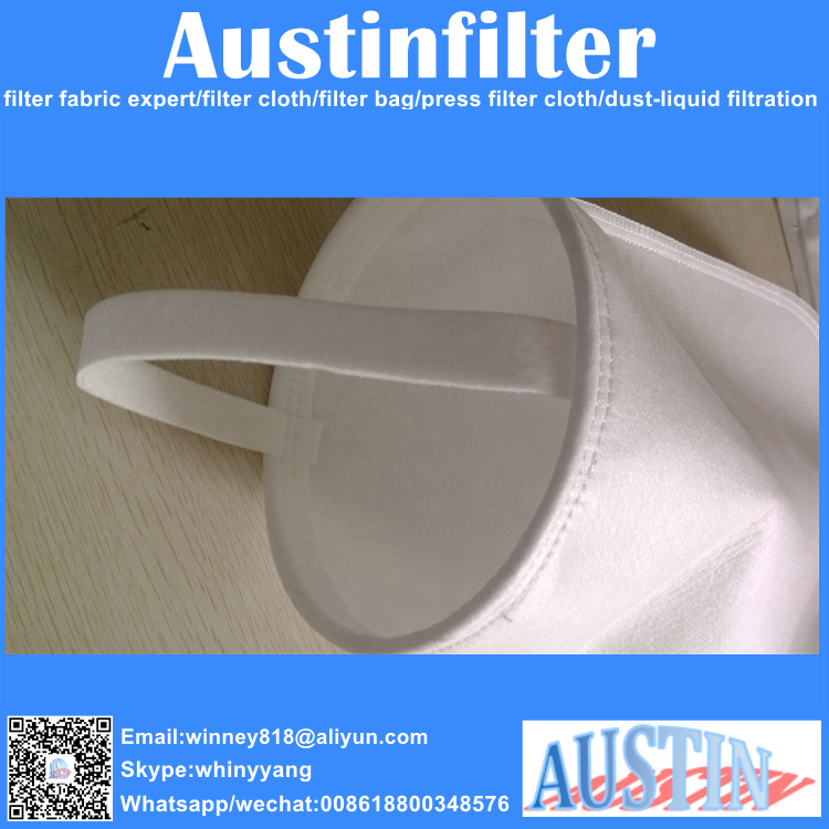 thread micron nonwoven liquid filter bag for water filtration