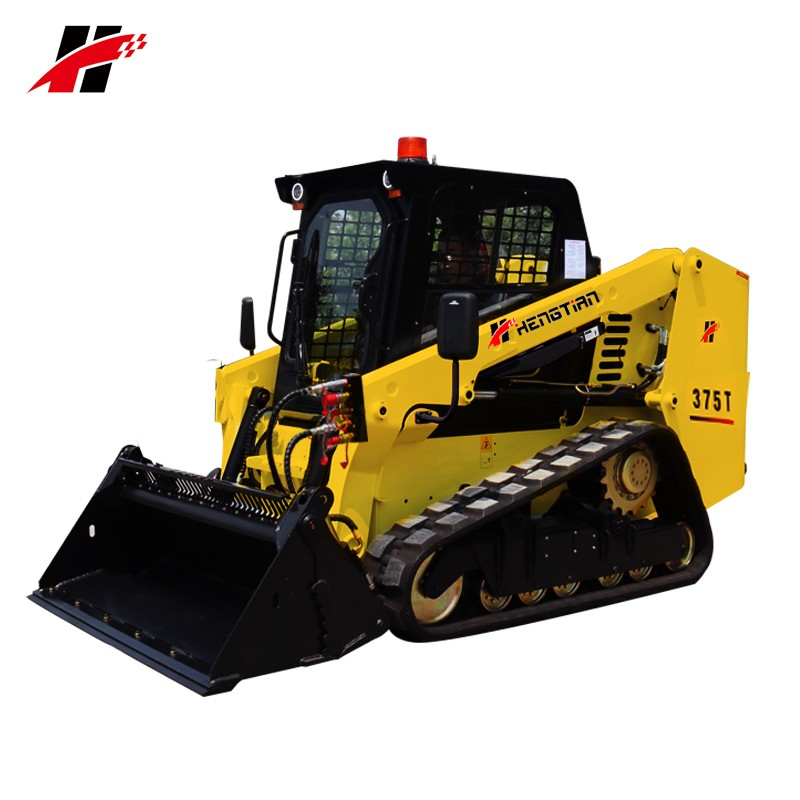 Similar tracked rubber crawler Bobcat skid loader hydraulic pilot joystick bobcat skid steer loader
