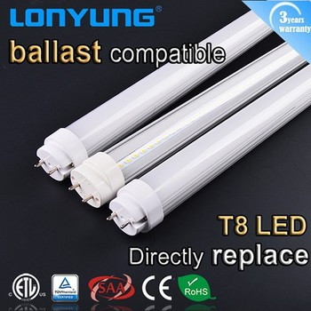Instant Fiting T8 Direct Replace 18w T8 Led Fluorescent Tube ...