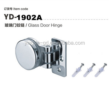 2016 Latest Circular Concealed Zinc Alloy Shower Glass Holder Hinge For  Bathroom Glass Door Wall Mount