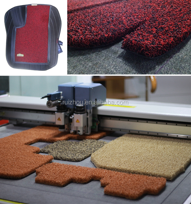 2017 new product Car cushion floor mat cutting machine