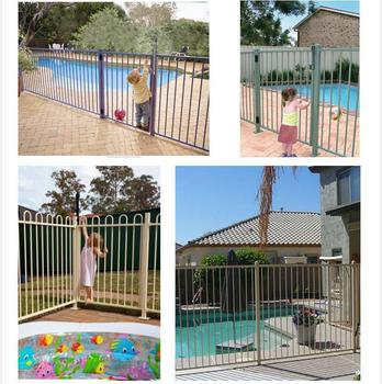 Mobile Pet Retractable Folding Swimming Pool Fence