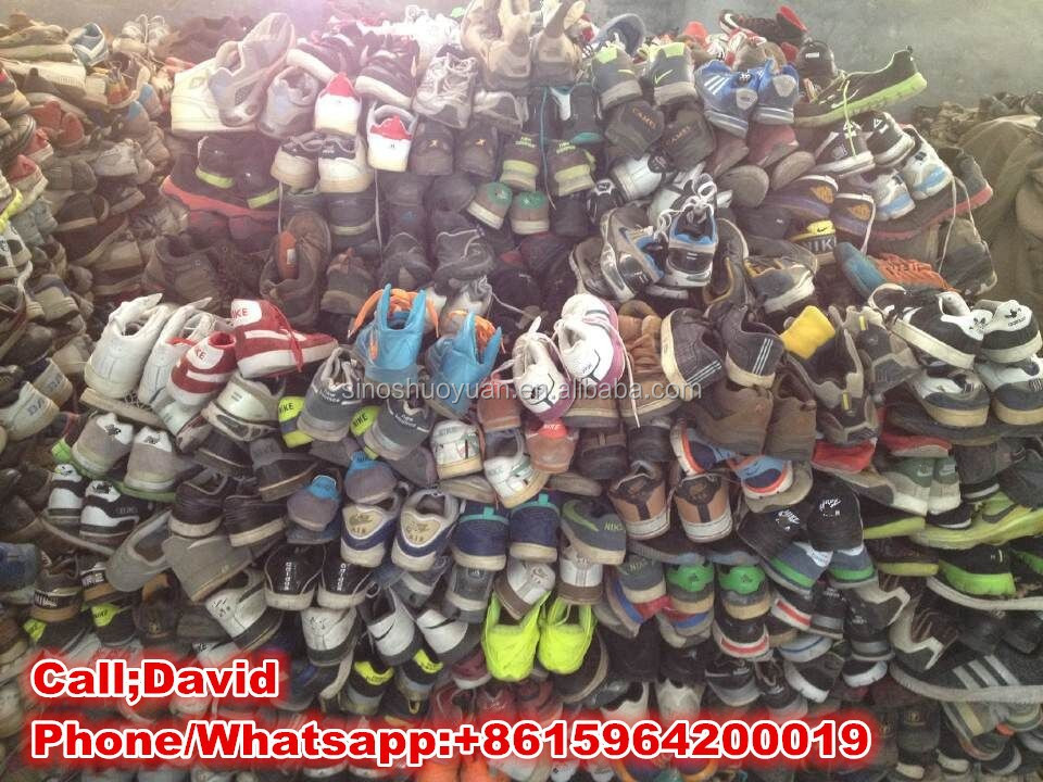 Wholesale 2015 Cheapest Price Top Paired Used Athletic Shoes