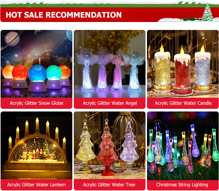 Wholesale Christmas Glass Ball Bulk Decoration multicolor string lights 100bulbs led string light