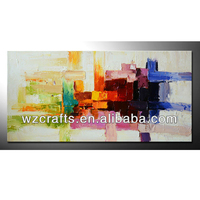 Simple abstract decoration art for nightclub 5 star angel modern oil painting
