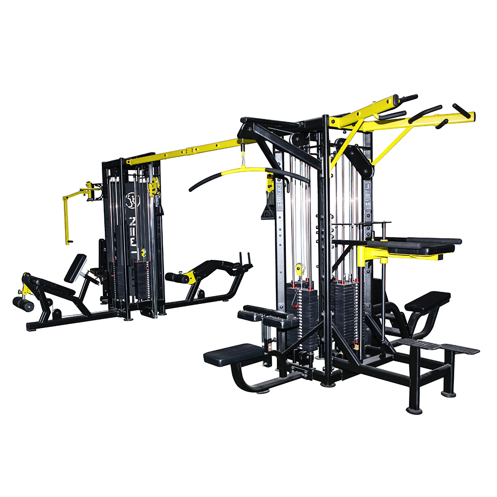 Commercial Use 8 Station Multi Gym Equipment