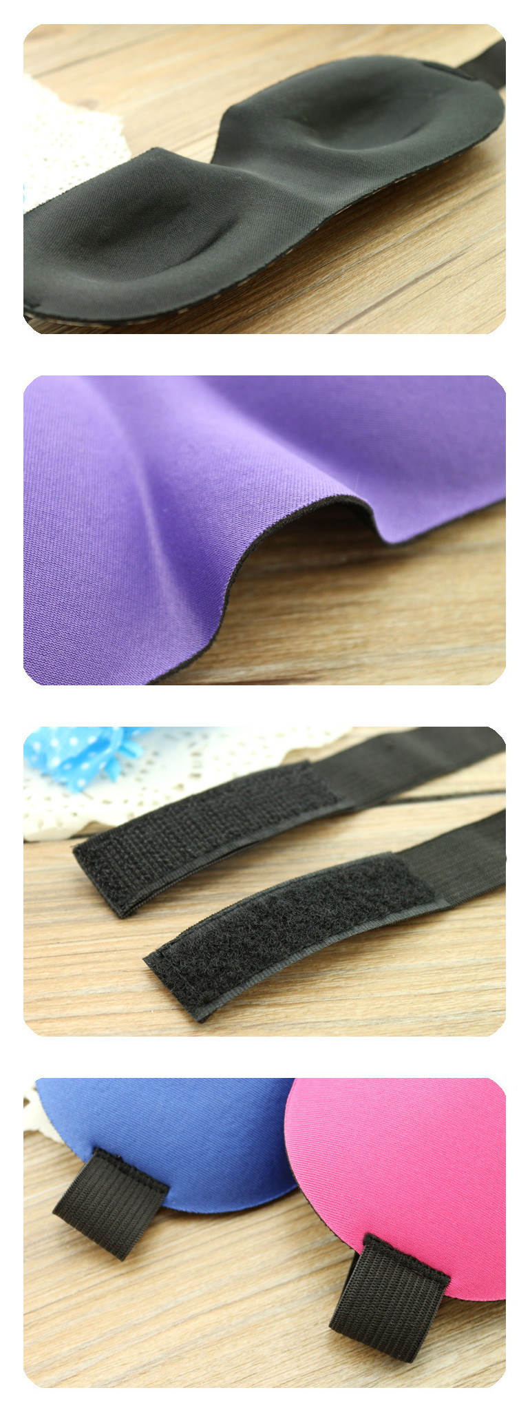 Alibaba express custom travel eye mask with private label