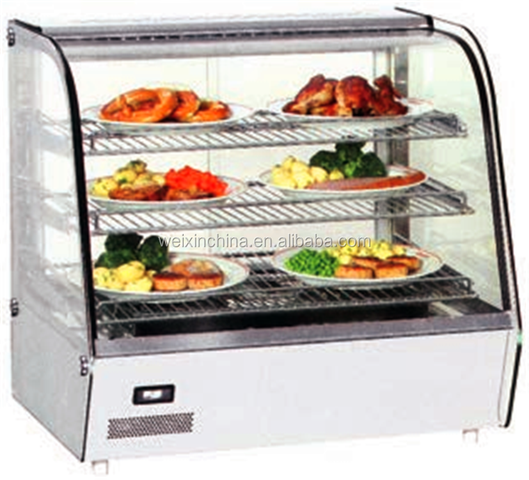 Supermarket Hot Food Display Cabinets With Factory Price - Buy Hot ...