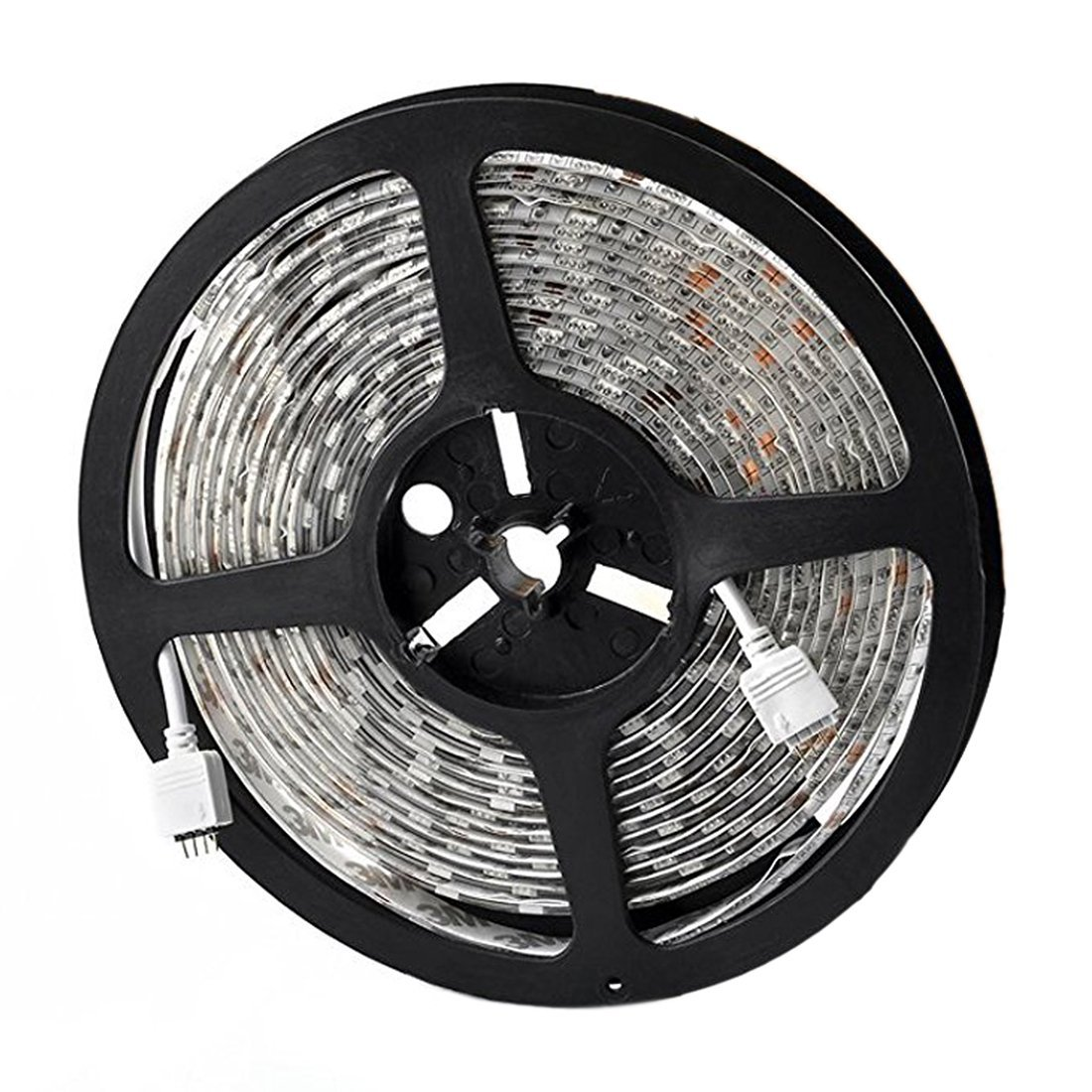 SODIAL(R) Colored Led Strip Lights Rope Lights for Indoor and Outdoor Decoration (300 Leds, 44 Key)