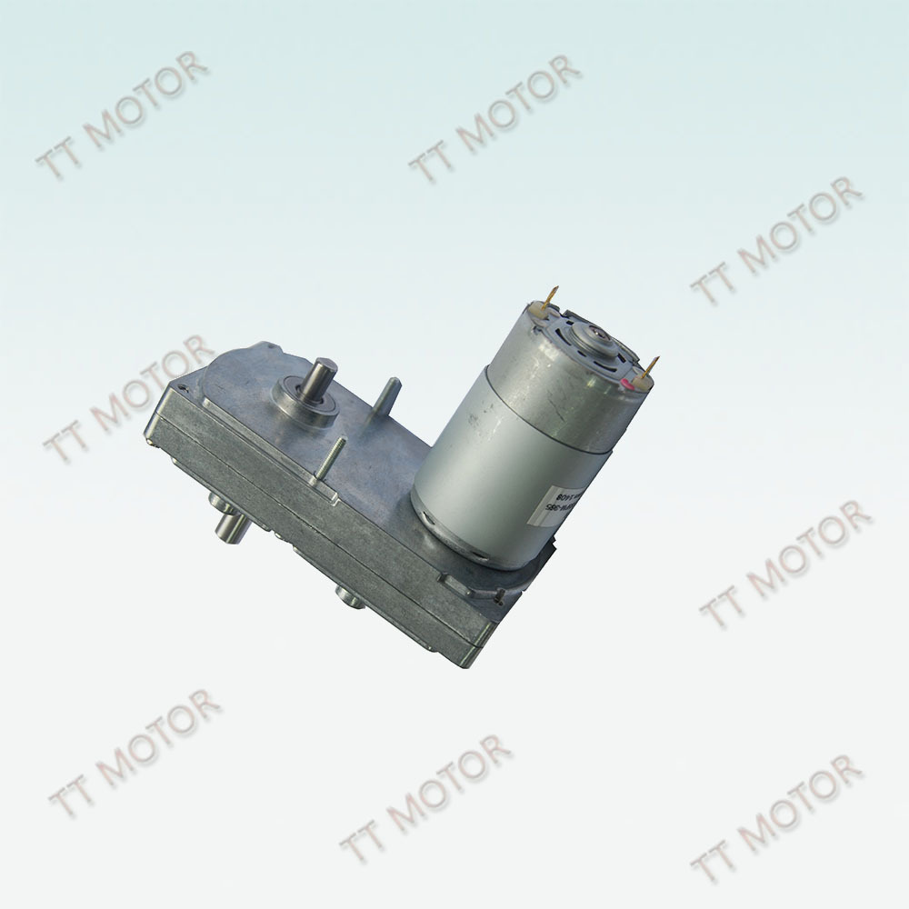 100mm Gear Low Rpm High Torque Dc Motor With Flat Gearbox