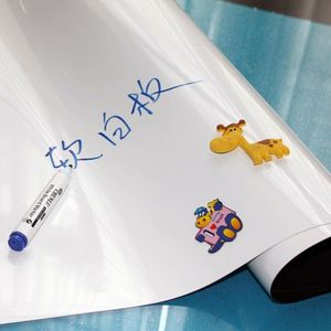 2018 New design self adhesive PET film with stand for kids whiteboard for classroom