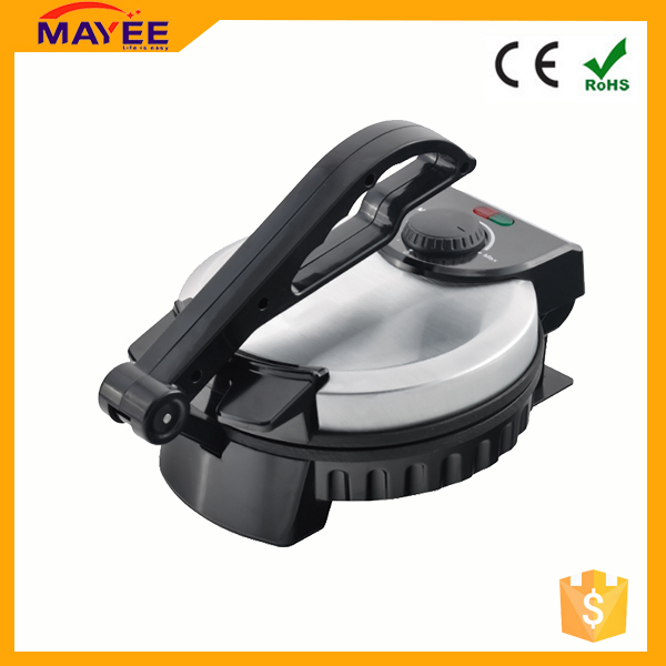 Good supplier 110/220v 50/60hz electric automatic roti maker/rotimatic machine/tortilla maker for home