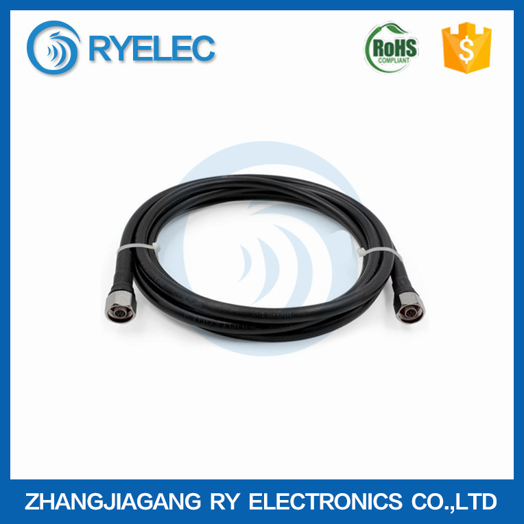 RG series N male to N male 50-7 rf coaxial extension cable assembly patch cord for base station to antenna connector