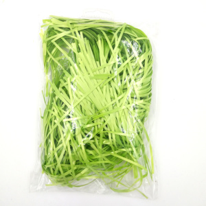 100g Bag Pack Light Green Color Shred Gift Ribbon for Jewelry Protection