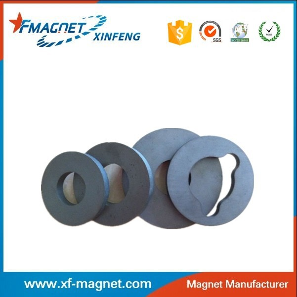 Ring Ferrite Magnets A Side With Animals Printing For Sale