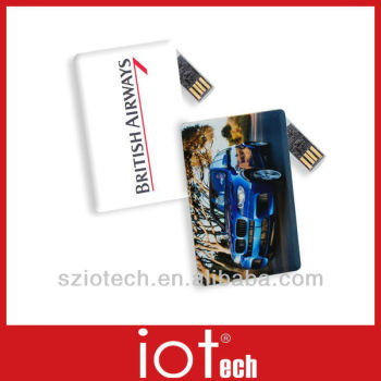 Rotate Id Card Logo Imprint Usb Key