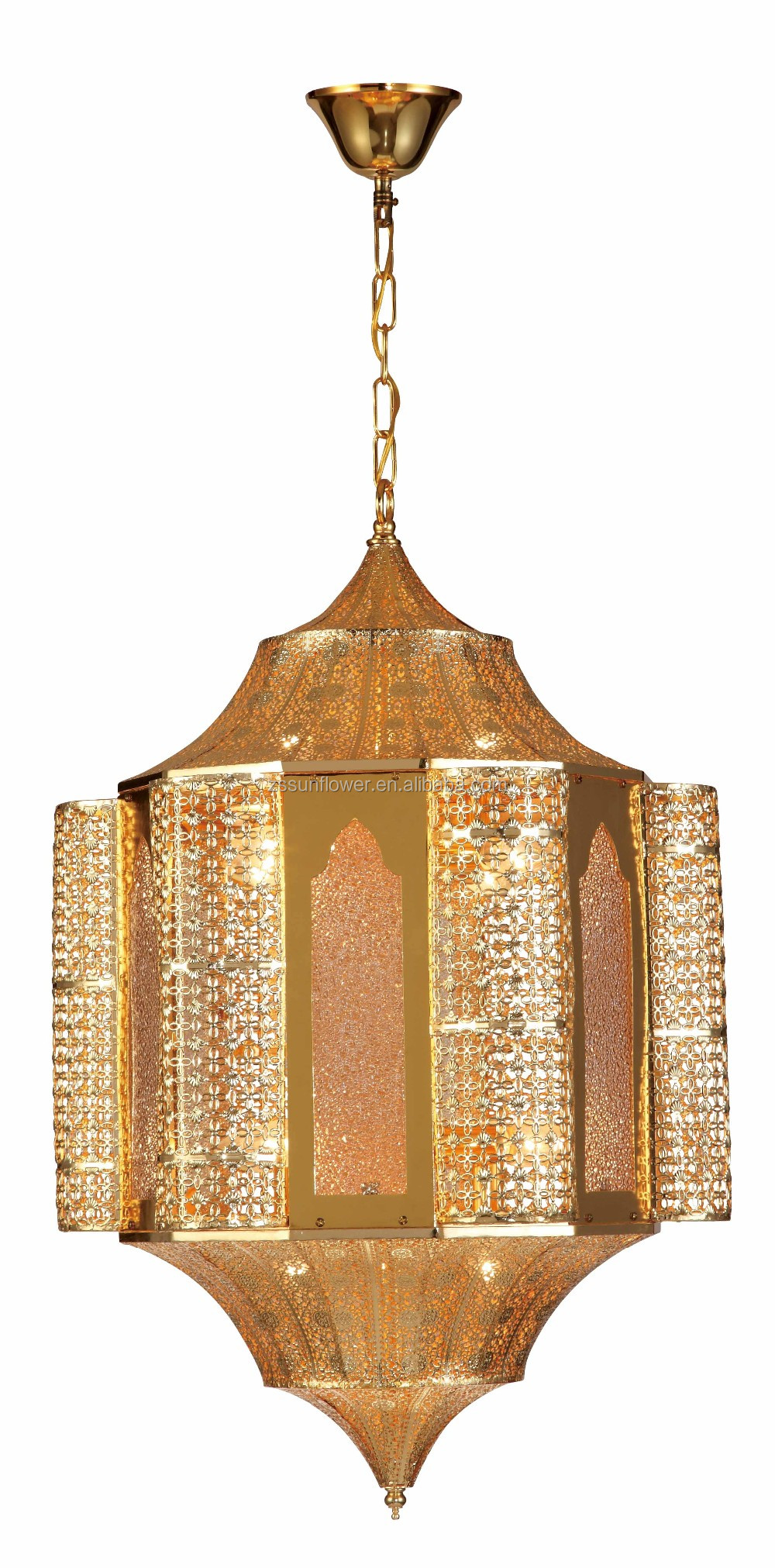 chandelier ceramic pendant carved arabic brass lamp lighting product hotel with lights gold porcelain arms antique european plated