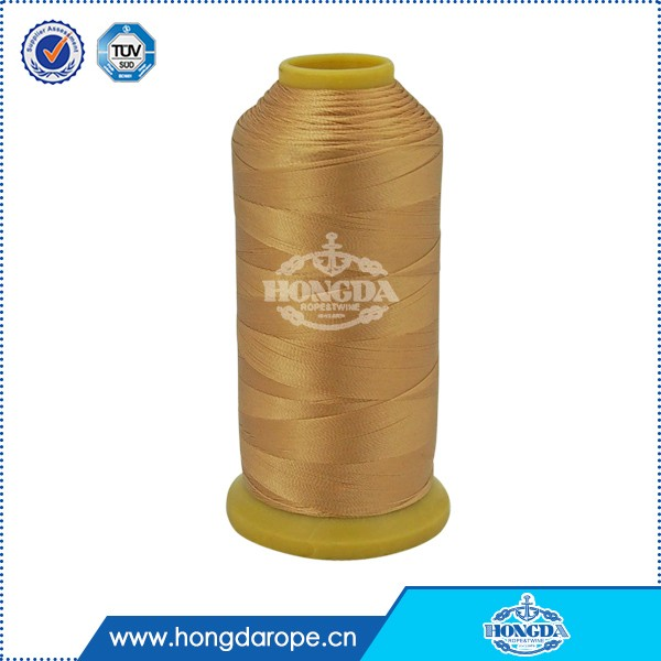 high quality and tenacity 100% nylon sewing thread 40/3 for gurment
