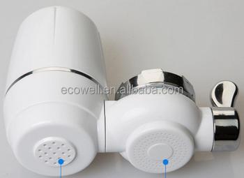 Portatile filtro per l acqua del rubinetto rubinetto depuratore di