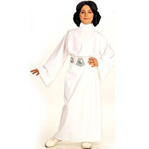 Star Wars Princess Leia Child Costume Size: Large Color: As Shown CustomerPackageType: , Model: , Toys & Play