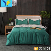 Wholesale custom 4pcs home comforter sets 100% cotton luxury bedsheets bedding set