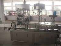 fully automatic piston type small bottle liquid filling machine for vegetable oil