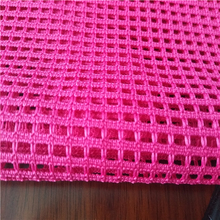 High quality single poly cotton mesh fabric for chair stock lot
