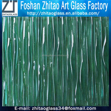 Customized Textured Artistic Building Glass with tempered