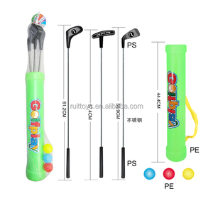 Outdoor Sport Play Plastic Portable Mini Junior Kids Golf Clubs