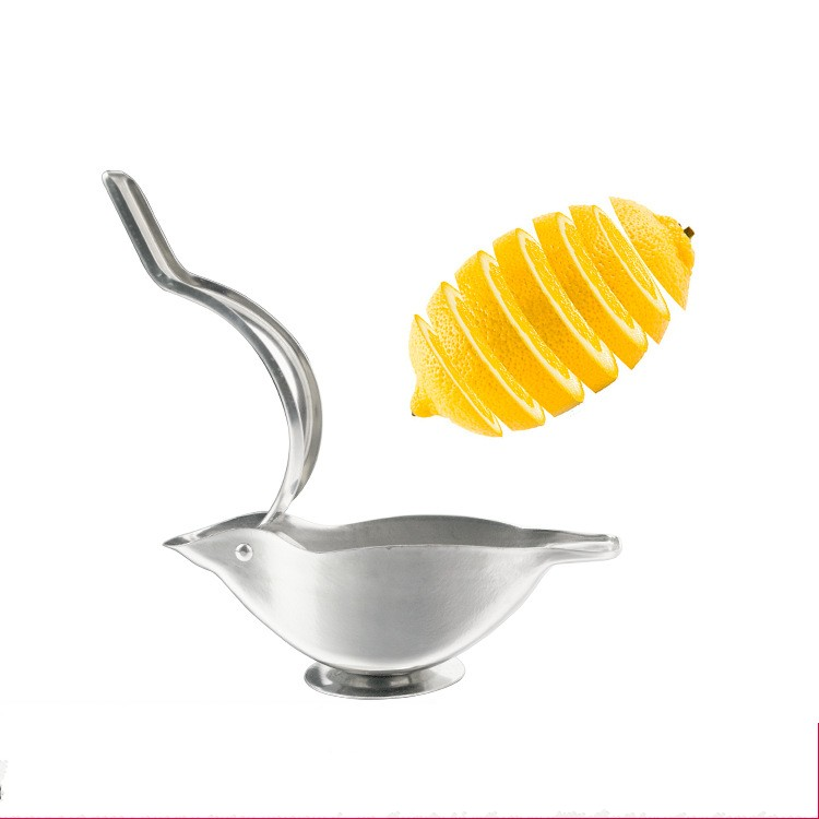 Kitchen Tools Portable Stainless Steel Manual Lemon Fruits Squeezer