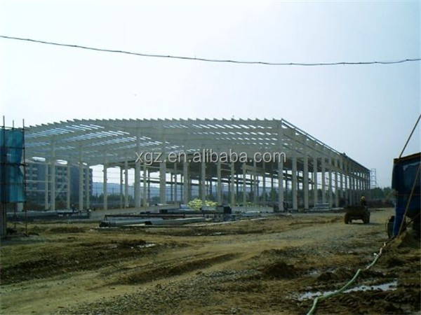 customized ISO & CE certificated prefab temporary industrial steel building