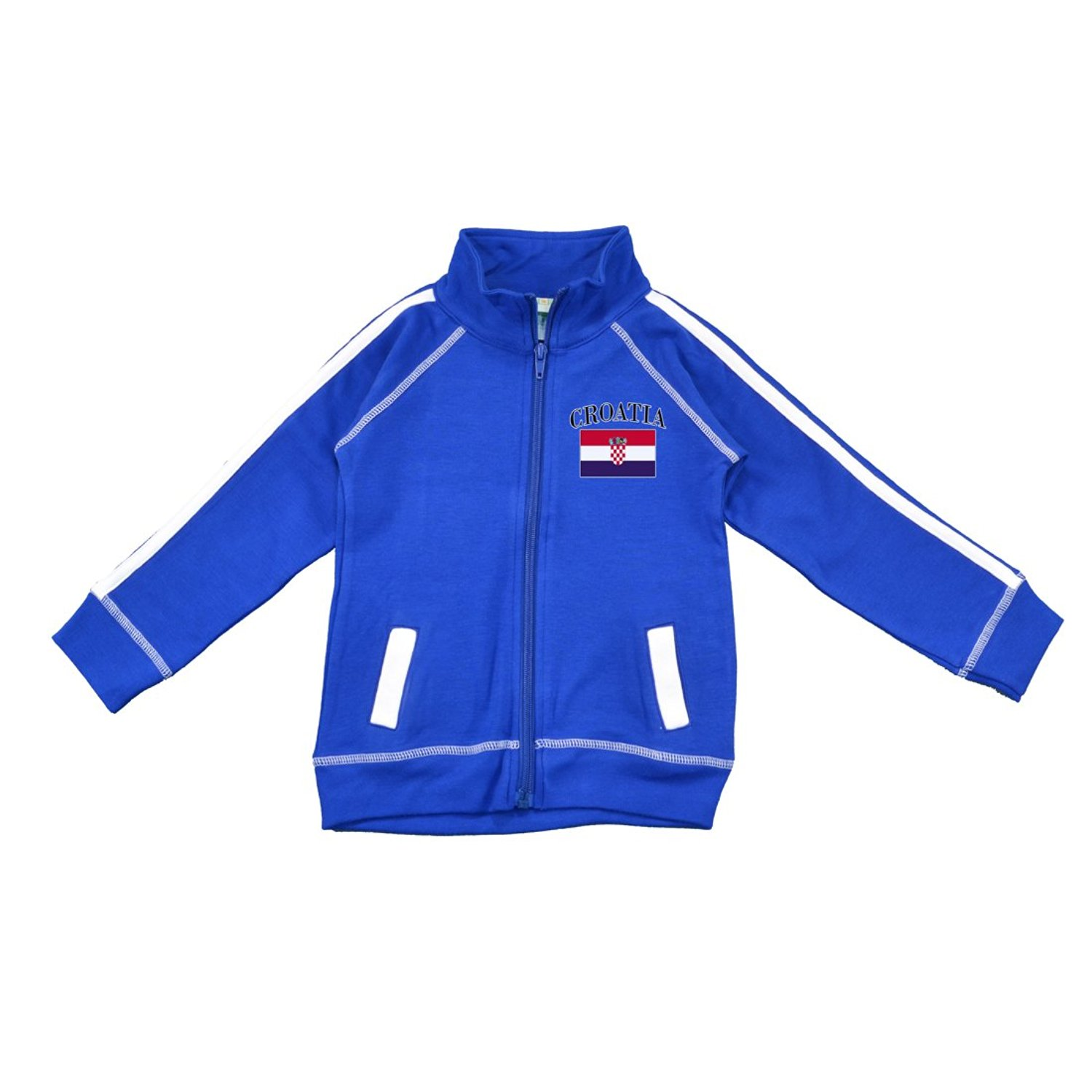 113d78ee3f0 PAM GM Little Boys Croatia Soccer Track Jacket