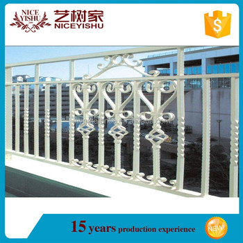 Yishujia Factory Cheap Used Wrought Iron Fencing For Saleiron Grill