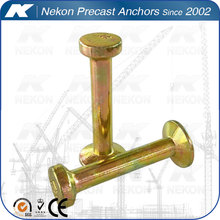 Zinc Painted Spherical Head Steel Pipe Anchor for Precast Concrete