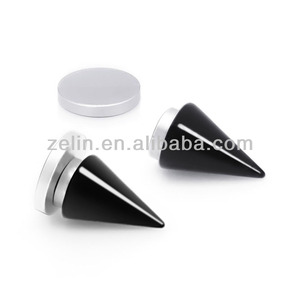 Acrylic Fake Labret Magnetic Piercing Stud magnetic nose stud