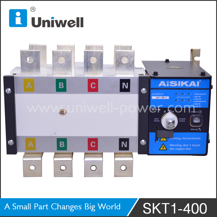 dual power automatic transfer switch 100a 125a 160a 250a 400a