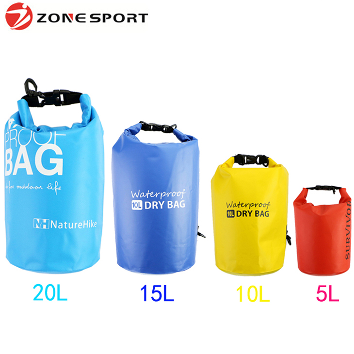 China supplier Custom logo waterproof dry bag survival pack outdoor bag