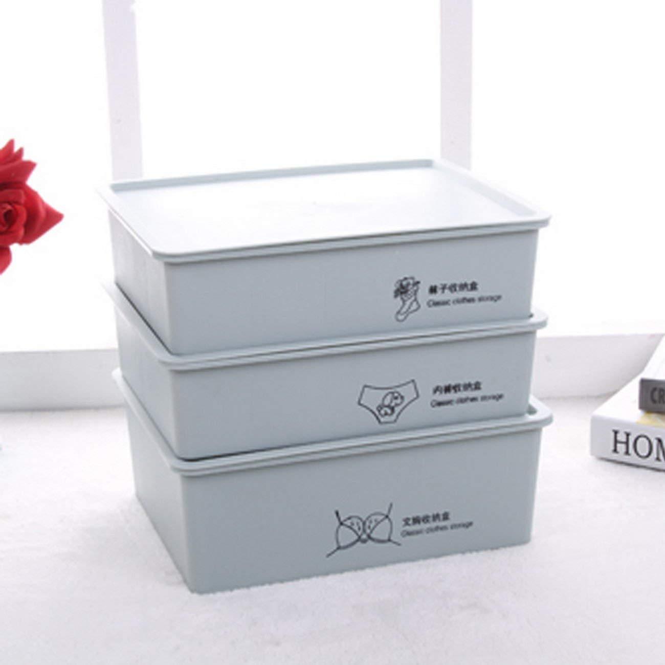 jii2030shann cover x fifteen lattice storage box storage box finishing lattice socks underwear bra storage finishing , finishing storage box, storage box