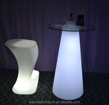 Party Led Illuminated High Top Plastic