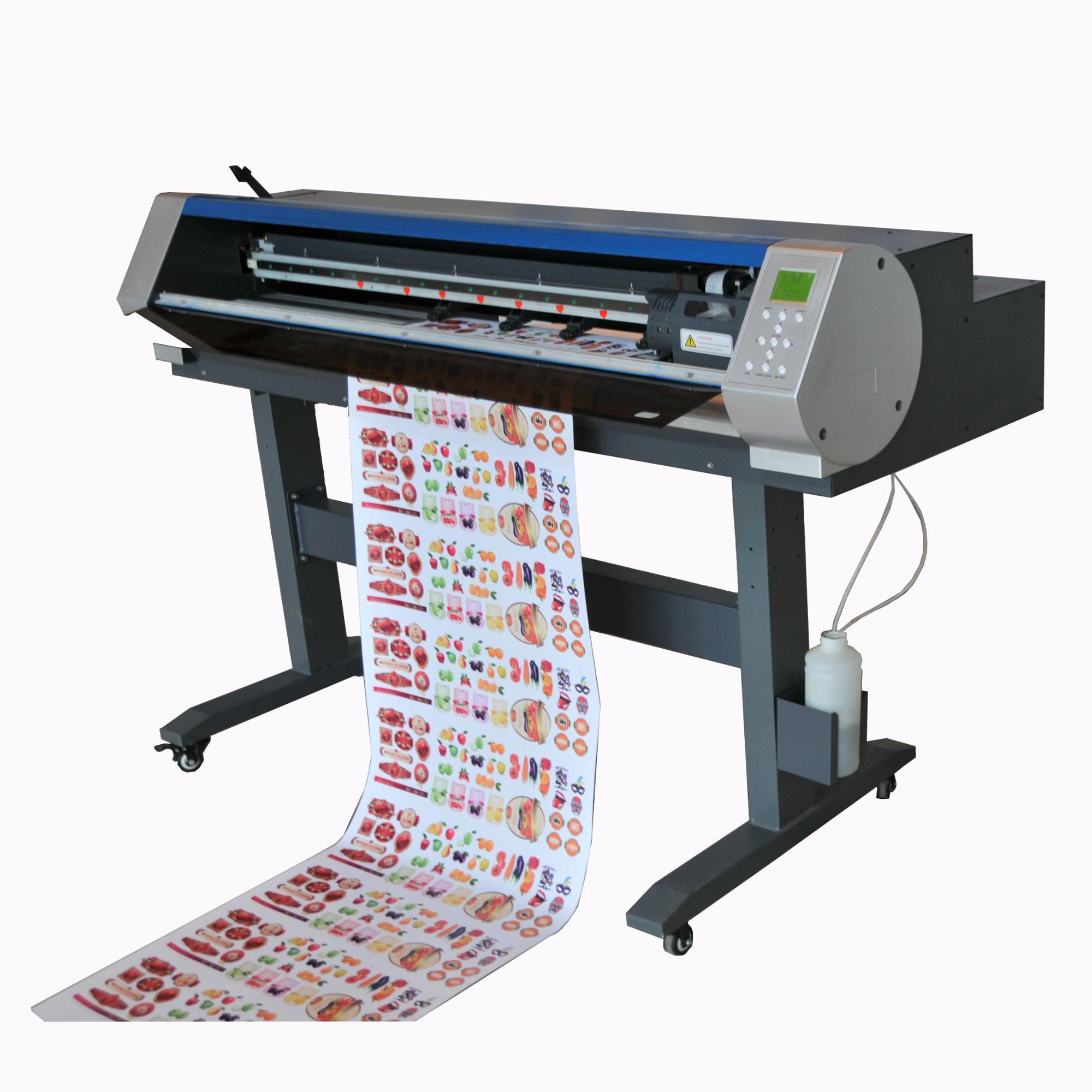 Tecjet desktop with stands small sticker printer cutter printcutter machine