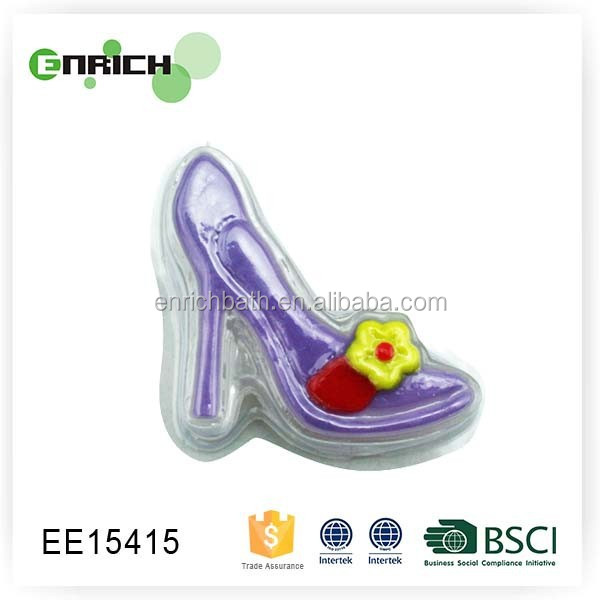high quality 50g high heels handmade whitening soap