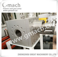 melt pump for extrusion